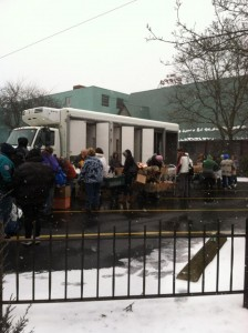 2nd Harvest food distribution