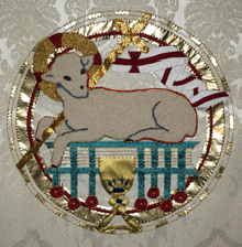 Ascension Agnus Dei frontal